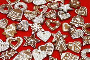 ręcznie dekorowane ciastka